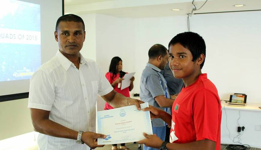 Mubal to Represent Maldives at the 09th Indian Island Ocean Games Youth Camp 2015