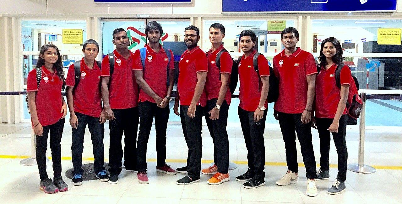 Maldivian Swimmers Camp in Sri Lanka to Prepare for the 9th Indian Ocean Island Games