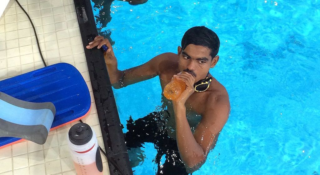 Nishwan Renews the 1st National Record for Swimming this Year