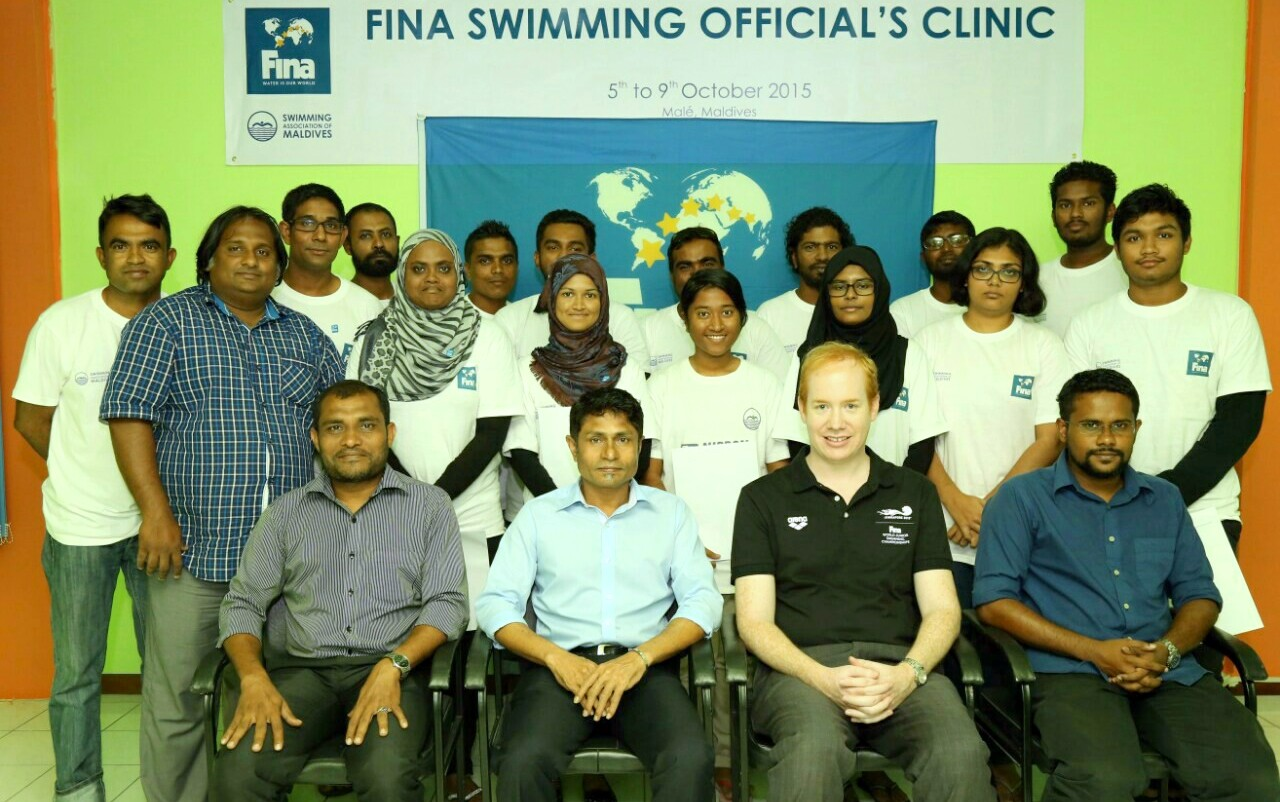 FINA Swimming Clinic for Officials Has Been Concluded